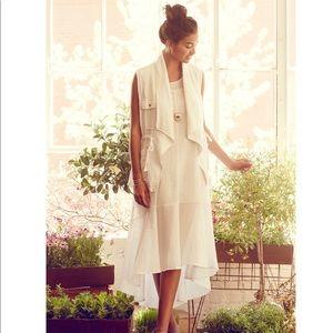 Delicate White Maxi Dress by Leifsdottir